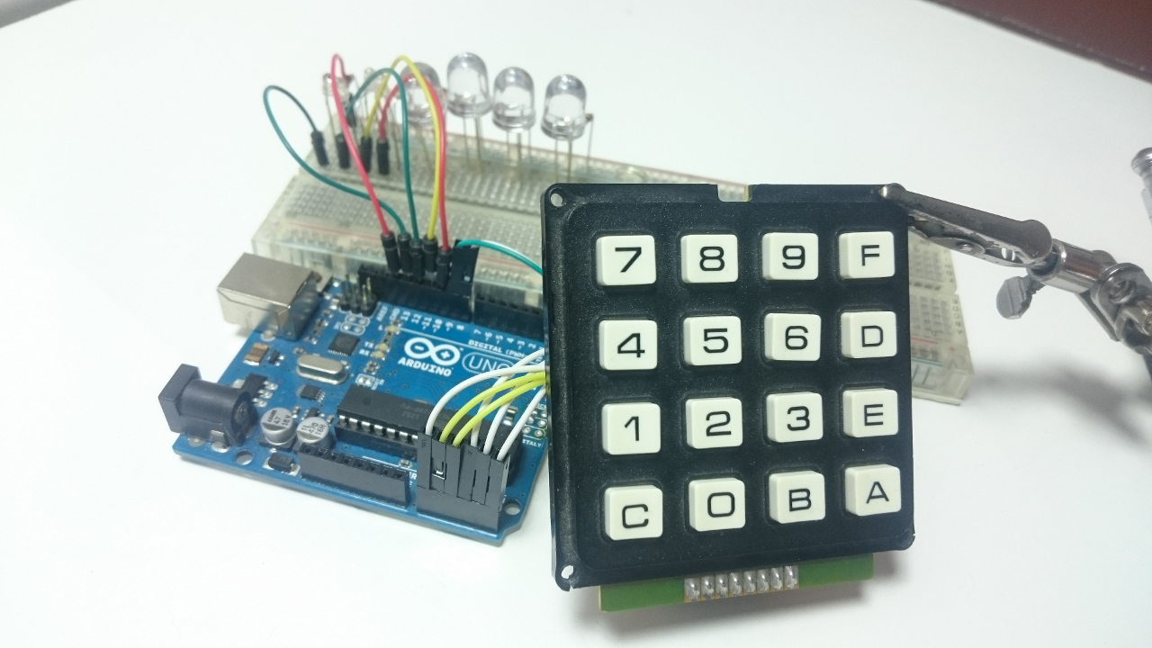 Arduino with Keypad